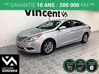 Used 2011 Hyundai Sonata GL ** GARANTIE 10 ANS ** Bas kilométrage! for sale in Shawinigan, QC