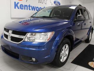 Used 2010 Dodge Journey SE FWD in blue for sale in Edmonton, AB