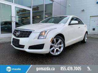 Used 2014 Cadillac ATS LUXURY AWD LEATHER DUAL CLIMATE REAL NICE for sale in Edmonton, AB