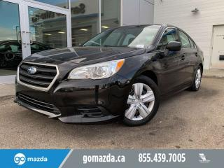 Used 2016 Subaru Legacy 2.5i AUTO AWD HEATED SEATS BACK UP CAM for sale in Edmonton, AB