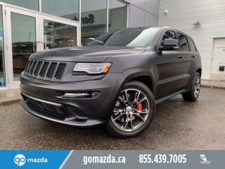 Used 2014 Jeep Grand Cherokee SRT LAGUNA LEATHER FULL BODY PAINT PROTECTION for sale in Edmonton, AB