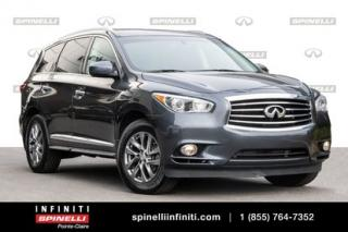 Used 2013 Infiniti JX35 BASE / CAMERA / TOIT / SIEGES CHAUFFANTS BAS KM AWD 7 PASSAGERS for sale in Montréal, QC