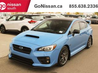 Used 2016 Subaru WRX HEATED LEATHER SEATS BACK UP CAMERA BLUETOOTH for sale in Edmonton, AB