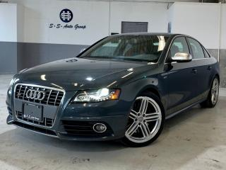 Used 2011 Audi S4 NAV|SPORT DIFF|BSM|ONE OWNER|ACCIDENT FREE| for sale in Oakville, ON