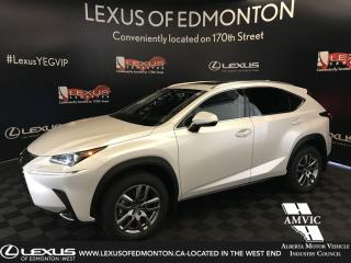 Used 2020 Lexus NX 300 DEMO UNIT - Premium Package (Offered Until 09.2019) for sale in Edmonton, AB