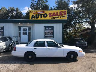 Used 2011 Ford Police Interceptor Utility for sale in Ottawa, ON