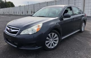 Used 2010 Subaru Legacy 3.6 w/Limited & Multimedia Pkg for sale in Oshawa, ON