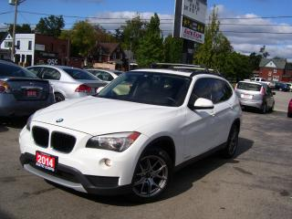 Used 2014 BMW X1 xDrive28i,LEATER,LOADED,SUNROOF,ROOFRACK,CERTIFIED for sale in Kitchener, ON