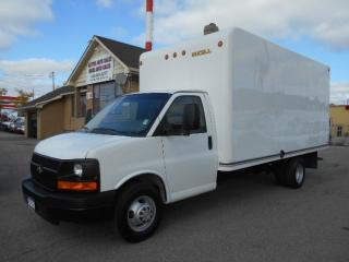 Used 2009 Chevrolet Express 3500 16Ft Fiberglass Cube Van Certified ONLY 83,000KMs for sale in Etobicoke, ON