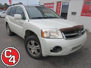 Used 2008 Mitsubishi Endeavor SE AWD TOIT MAG A/C GR ÉLECT INSPECTION for sale in St-Jérôme, QC