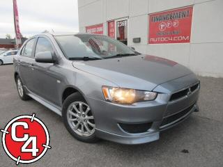 Used 2014 Mitsubishi Lancer SE MAG A/C GR ÉLECT BLUETOOTH for sale in St-Jérôme, QC