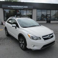 Used 2015 Subaru XV Crosstrek HYBRID AWD **UNE AUBAINE** for sale in St-Hubert, QC