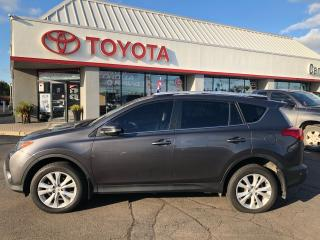 Used 2015 Toyota RAV4 LTD auto AWD Leather roof alloys for sale in Cambridge, ON