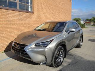 Used 2015 Lexus NX NX 200T /LEATHER /NAVI/CAM/BLUETOOTH for sale in Oakville, ON