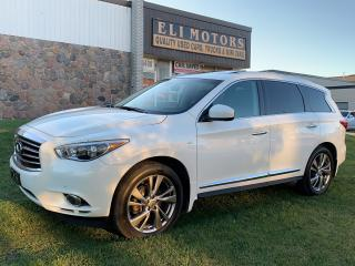 Used 2014 Infiniti QX60 Premium technology pkg. 360 Camera. NAVI. TV-DVD. BLIS. PANO ROOF. for sale in North York, ON