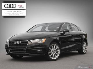 Used 2016 Audi A3 2.0T Technik for sale in Halifax, NS
