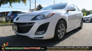 Used 2010 Mazda MAZDA3 GT |NO ACCIDENT|SUNROOF|BLUETOOTH|AC|CERTIFIED for sale in Oakville, ON