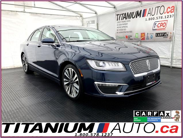 2017 Lincoln MKZ Reserve+AWD+GPS+Pano Roof+Blind Spot+Massage Seats