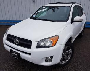 Used 2010 Toyota RAV4 SPORT 4WD *LEATHER-SUNROOF* for sale in Kitchener, ON