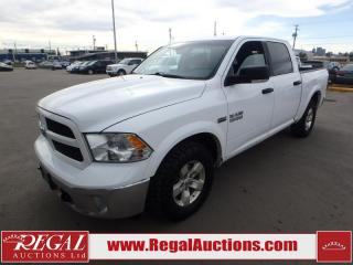 Used 2015 RAM 1500 OUTDOORSMAN CREW CAB 4WD for sale in Calgary, AB