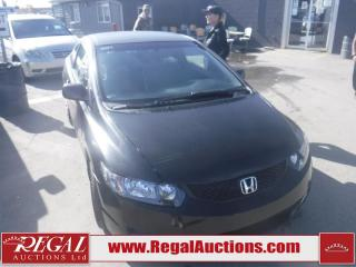 Used 2009 Honda Civic 2D COUPE for sale in Calgary, AB