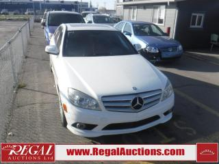 Used 2009 Mercedes-Benz C230 4MATIC 4D SEDAN AWD for sale in Calgary, AB