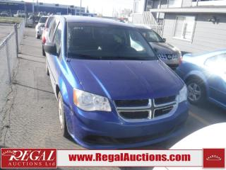 Used 2013 Dodge Grand Caravan SE 4D Wagon for sale in Calgary, AB