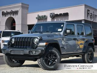 New 2020 Jeep Wrangler Unlimited Willys Edition for sale in Burlington, ON