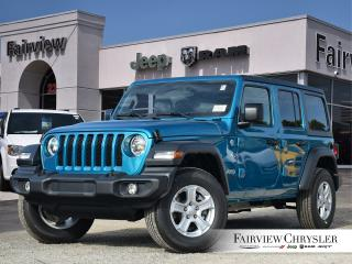New 2020 Jeep Wrangler Unlimited Sport S for sale in Burlington, ON