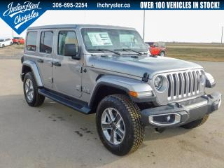 New 2020 Jeep Wrangler Unlimited Sahara 4x4 | Leather | Bluetooth for sale in Indian Head, SK