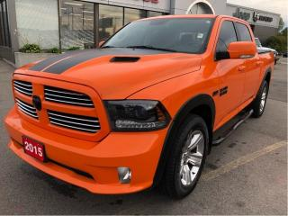 Used 2015 RAM 1500 Sport Crew 4x4 V8 Ignition Orange Edition for sale in Hamilton, ON