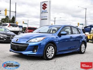 Used 2012 Mazda MAZDA3 GS ~SkyActiv ~Heated Seats ~Power Moonroof ~Alloys for sale in Barrie, ON