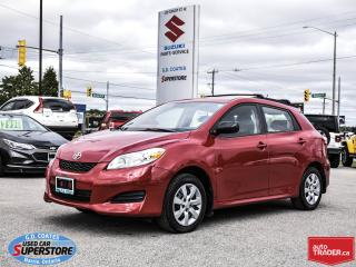 Used 2013 Toyota Matrix AWD for sale in Barrie, ON