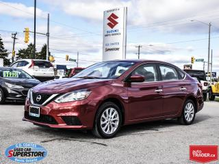 Used 2017 Nissan Sentra SV ~Nav ~Backup Cam ~Heated Seats ~Power Moonroof for sale in Barrie, ON