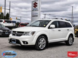 Used 2013 Dodge Journey R/T AWD ~Nav ~Backup Cam ~Heated Leather ~Moonroof for sale in Barrie, ON