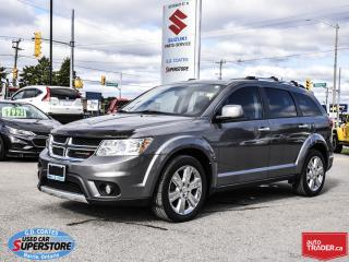 Used 2013 Dodge Journey R/T AWD ~7 Passenger ~Nav ~Backup Cam ~Moonroof for sale in Barrie, ON