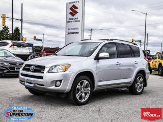 Used 2011 Toyota RAV4 Sport 4x4 ~3.5L V6 ~Power Moonroof ~Alloy Wheels for sale in Barrie, ON