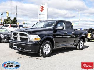 Used 2011 RAM 1500 ST Quad Cab 4x4 ~Trailer Tow Package ~Alloy Wheels for sale in Barrie, ON