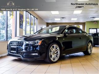 Used 2015 Audi A5 TECHNIk. NAVIGATION |REAR CAM| OFF LEASE NO ACCIDE for sale in Concord, ON