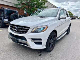 Used 2015 Mercedes-Benz ML-Class 4MATIC 4dr ML350 BlueTEC for sale in North York, ON