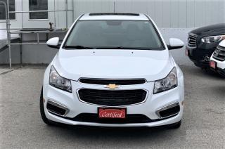 Used 2015 Chevrolet Cruze 2LT for sale in Woodbridge, ON