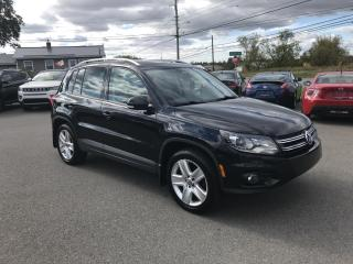 Used 2014 Volkswagen Tiguan Highline for sale in Truro, NS