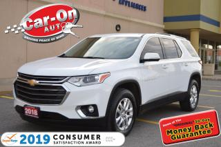 Used 2018 Chevrolet Traverse LT 7 SEAT DVD REAR CAM HTD SEATS NAV READY LOADED for sale in Ottawa, ON