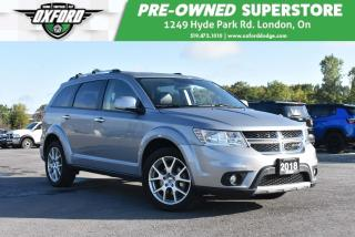 Used 2018 Dodge Journey GT - Low Kms, Very Clean for sale in London, ON