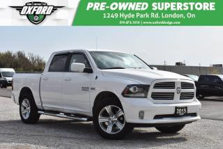 Used 2016 RAM 1500 SLT - Well Maintained, UConnect, Trailer Hitch, Pl for sale in London, ON