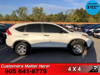 Used 2014 Honda CR-V LX  AWD B/U-CAM HTD-SEATS, BLUETOOTH for sale in St. Catharines, ON