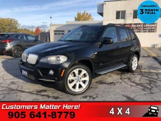 Used 2008 BMW X5 4.8i  AWD 4.8L ROOF CARAMEL-LEATHER PARK-SENS for sale in St. Catharines, ON