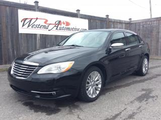 Used 2011 Chrysler 200 Limited for sale in Stittsville, ON