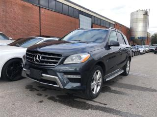 Used 2012 Mercedes-Benz ML 350 BlueTEC DIESEL, 4MATIC, NAVI, PANO, CAMERA for sale in Toronto, ON