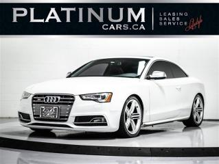 Used 2013 Audi S5 3.0T quattro AWD, NAVI, SUNROOF, Heated SEATS, BT for sale in Toronto, ON